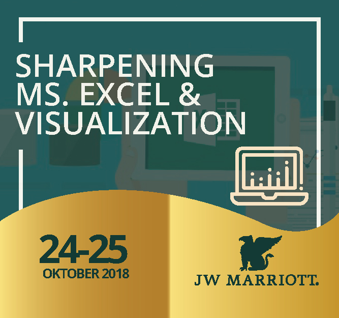 Protected: 24 – 25 Oktober 2018, Workshop Sharpening Ms. Excel & Visualization