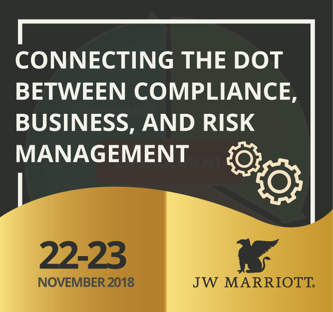 Protected: 22-23 November 2018, Workshop Connecting the Dot Between Compliance, Business, and Risk Management