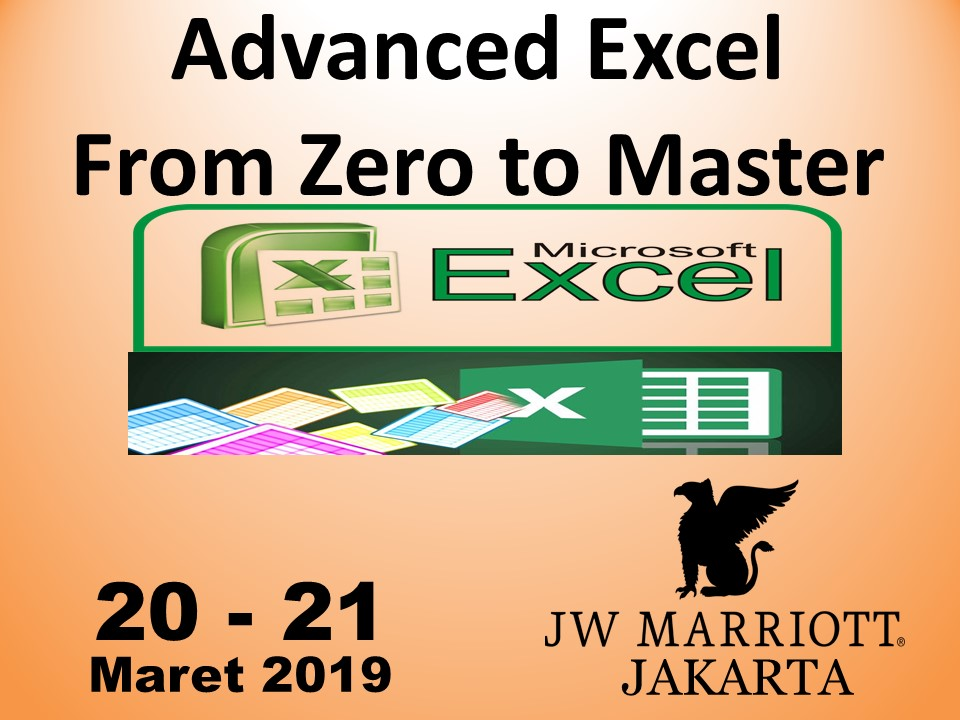 Protected: 20-21 Maret 2019, Workshop Advanced Excel From Zero to Master